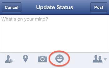 Up date facebook